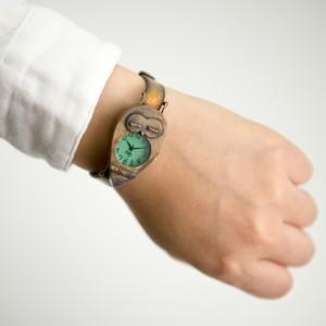 お昼寝ふくろう腕時計S